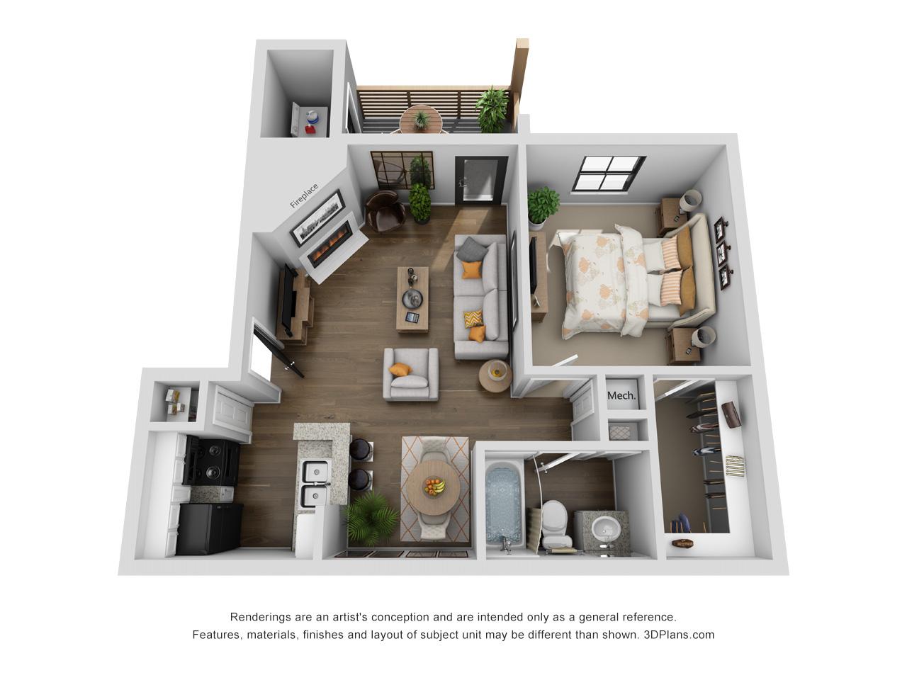 Floorplan - Lenox image