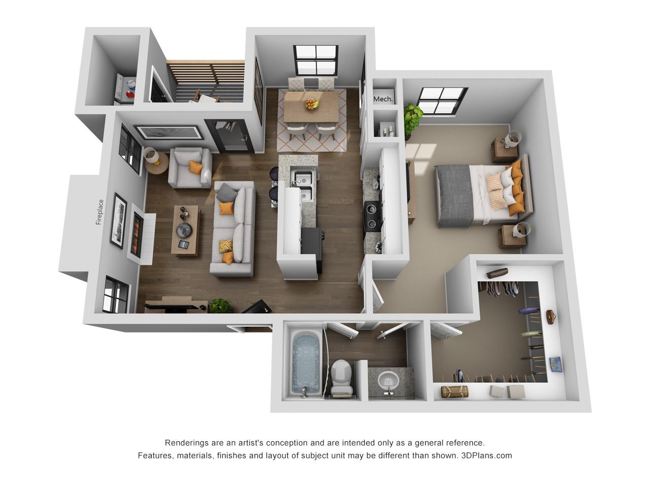Floorplan - Dupree image