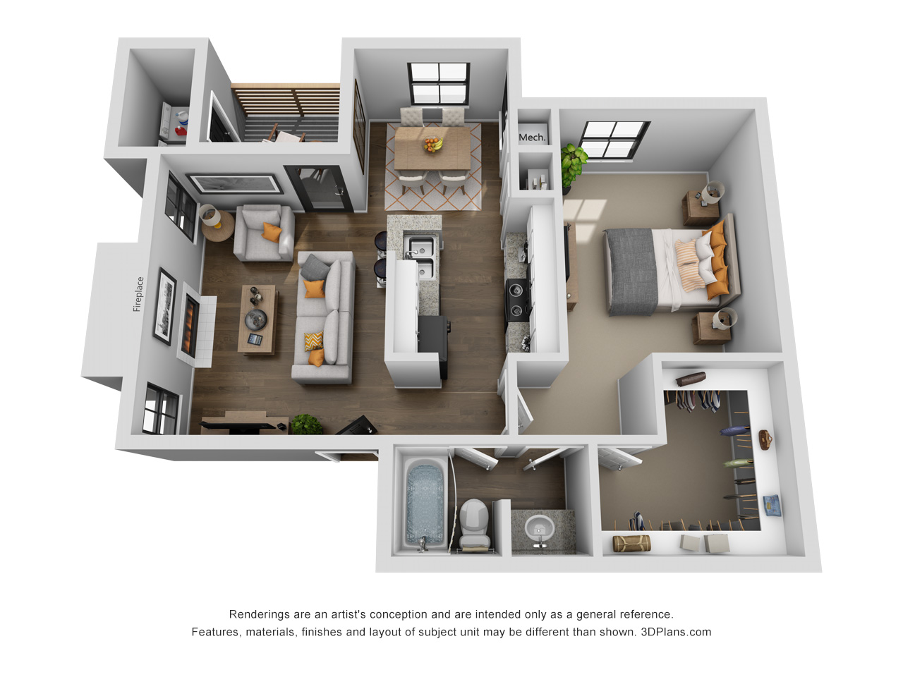 Lofton Place - Floorplan - Dupree