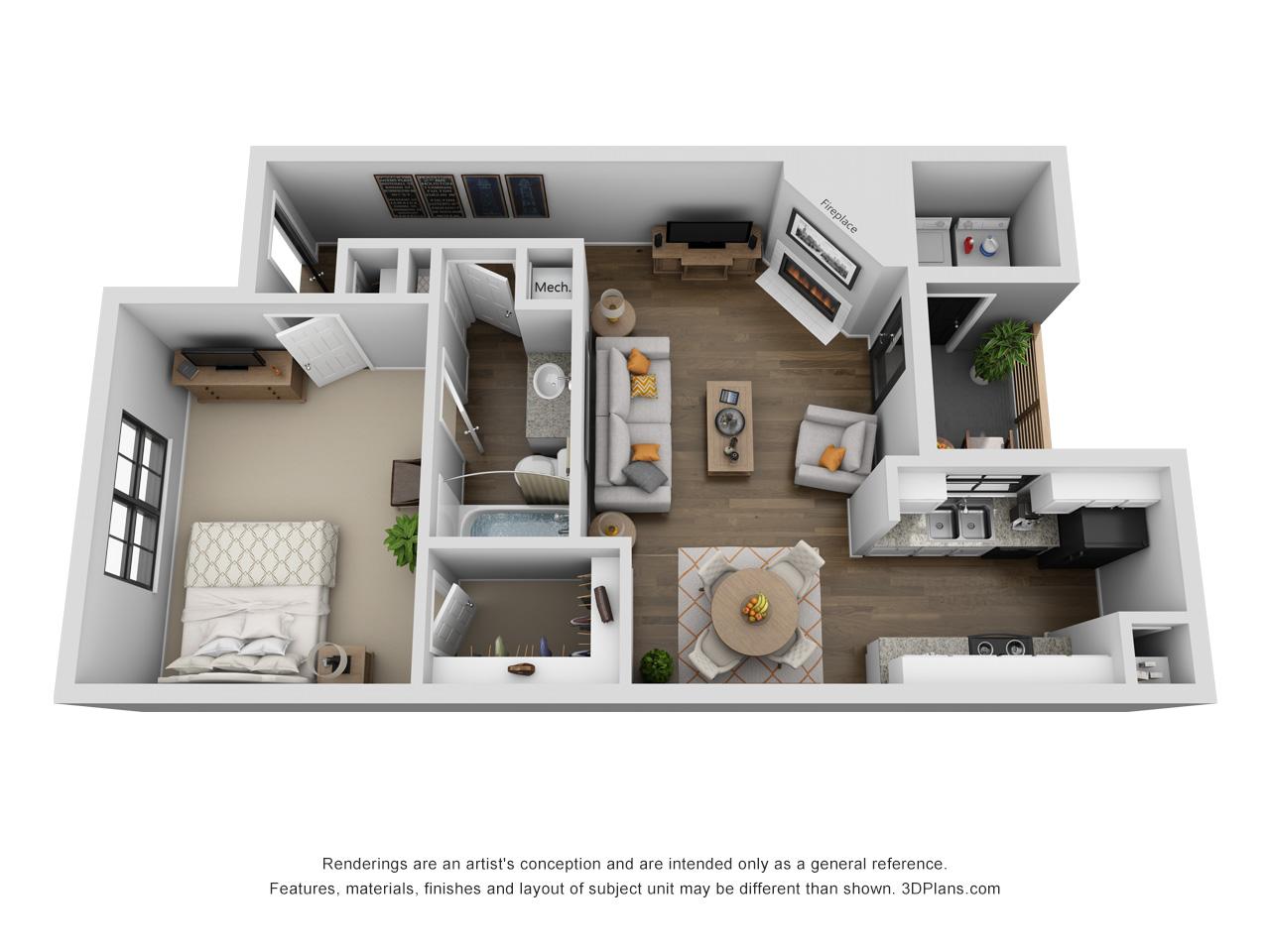 Floorplan - Tisdale image