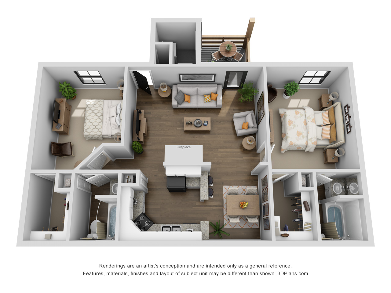 Floorplan - Turner image