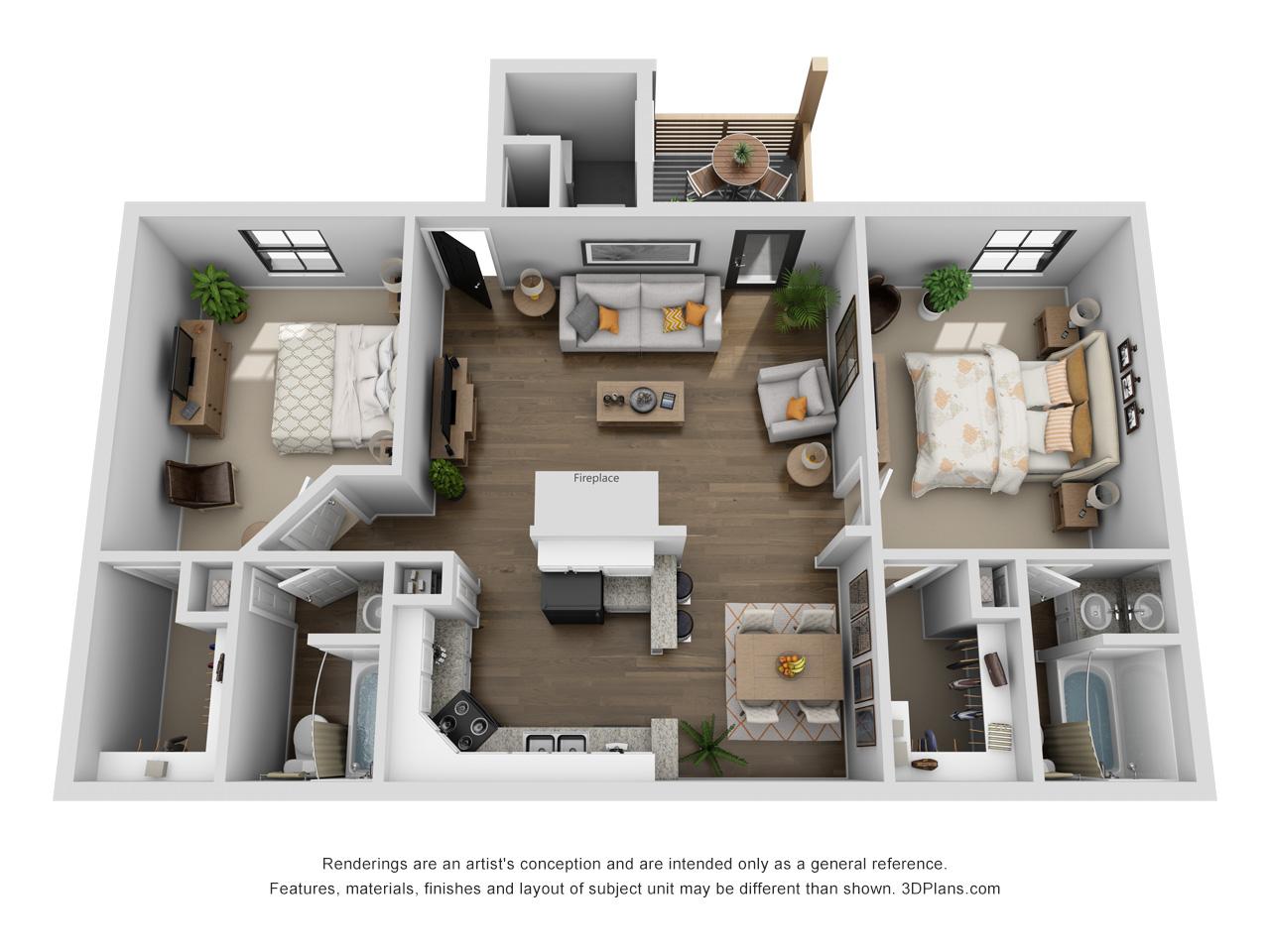Lofton Place - Floorplan - Turner