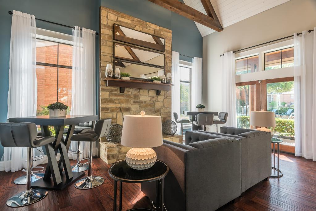 Stylish Interiors at Lofton Place Apartments in Fort Worth, Texas
