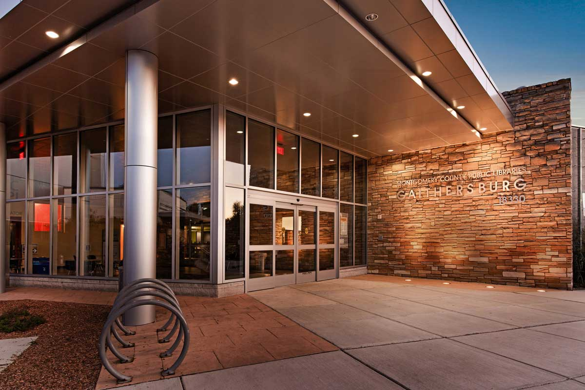 Gaithersburg Library is 10 minutes from Londonderry Apartments in Gaithersburg, MD