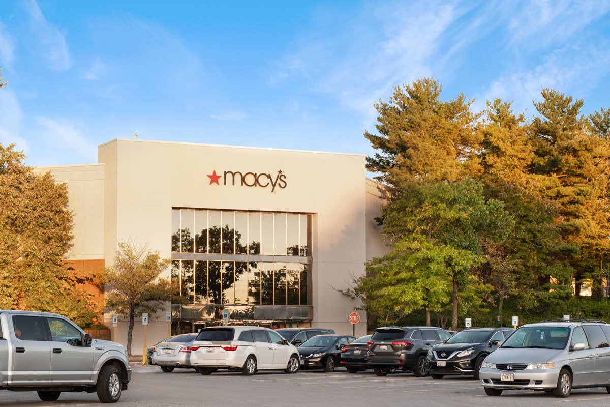 Macy's is 10 minutes from Londonderry Apartments in Gaithersburg, MD