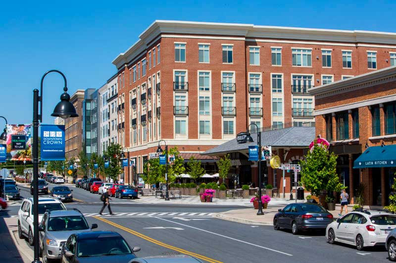 Downtown Crown is 5 minutes from Londonderry Apartments in Gaithersburg, MD