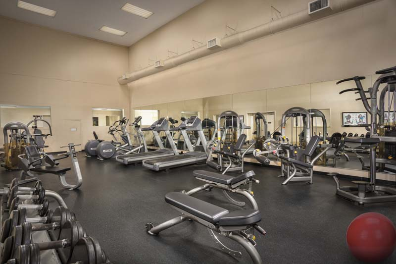 Fitness center at Londonderry Apartments in Gaithersburg, MD