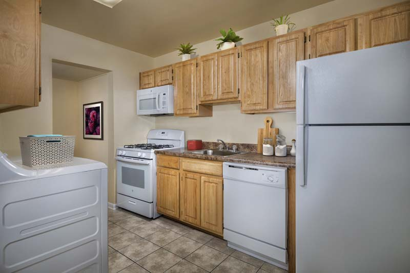 Washer & dryer available at Londonderry Apartments in Gaithersburg, MD