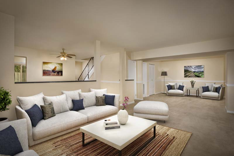 Spacious townhomes for rent at Londonderry Apartments in Gaithersburg, MD