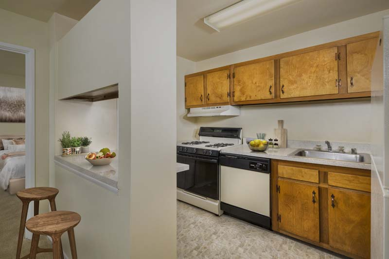 Breakfast bar at Londonderry Apartments in Gaithersburg, MD