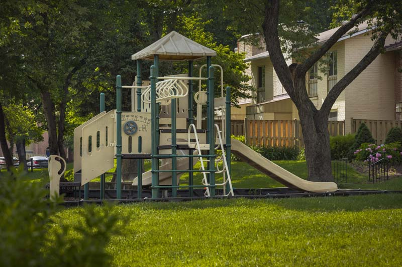 Play areas at Londonderry Apartments in Gaithersburg, MD