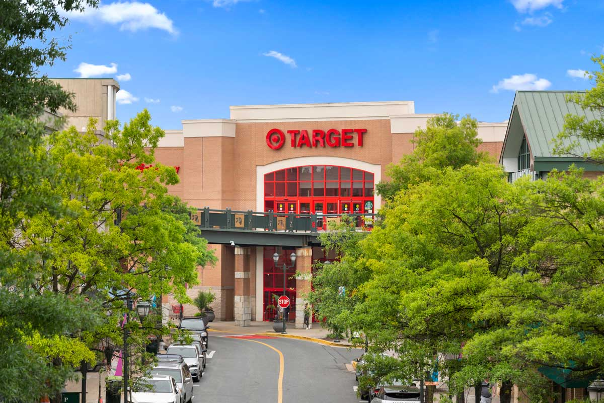Target is 5 minutes from Londonderry Apartments in Gaithersburg, MD