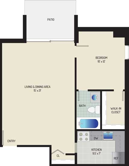 Londonderry Apartments - Apartment 507112-102-A