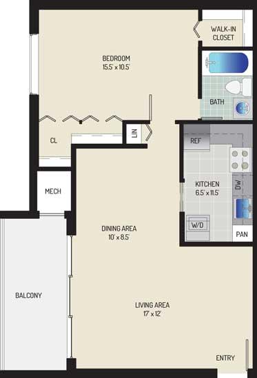 Londonderry Apartments - Apartment 507020-300-C2
