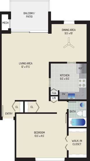 Londonderry Apartments - Apartment 50K128-102-F1