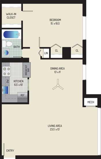 Londonderry Apartments - Apartment 50K201-203-H1