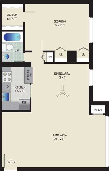 Londonderry Apartments - Apartment 50K205-303-H1