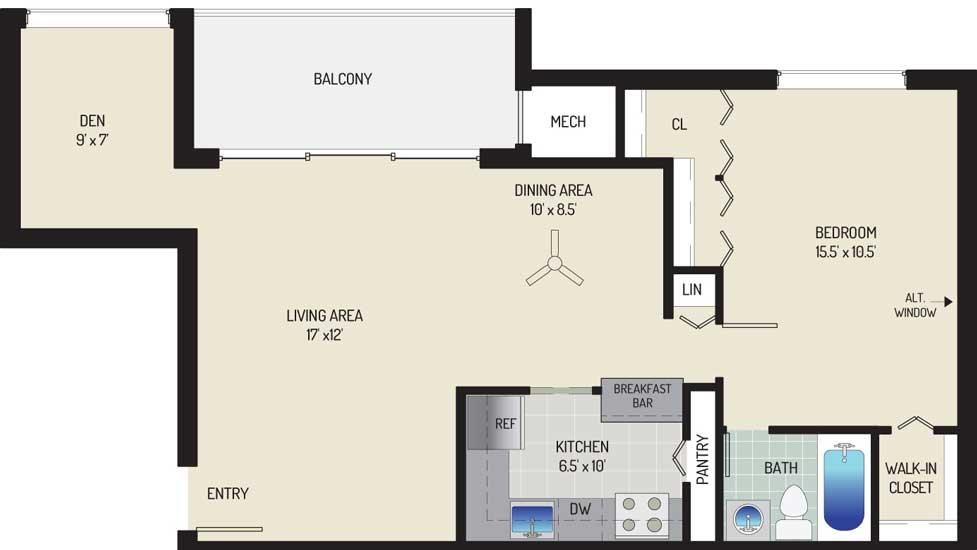 Londonderry Apartments - Apartment 507142-300-K2