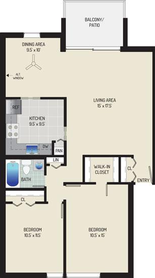 Londonderry Apartments - Apartment 50K136-201-R1