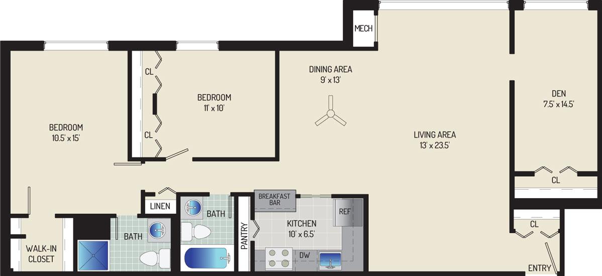 Londonderry Apartments - Apartment 50K205-201-ZA1