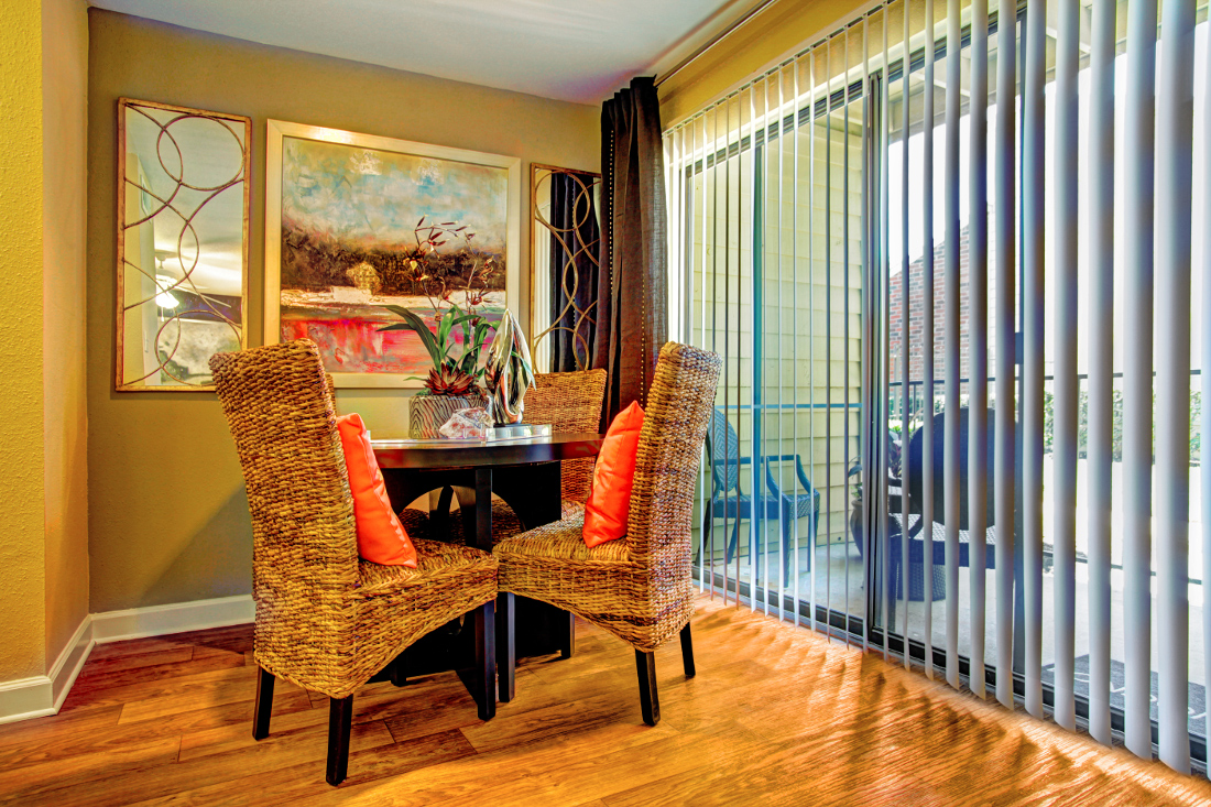 Dining Room at Westmount at London Park Apartments in Houston, TX