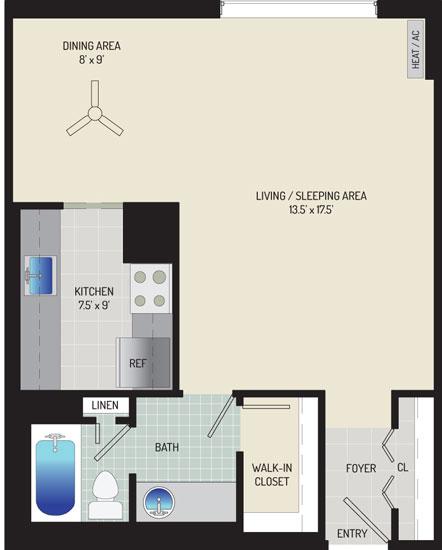 London Park Towers Apartments - Apartment 145375-0614-B