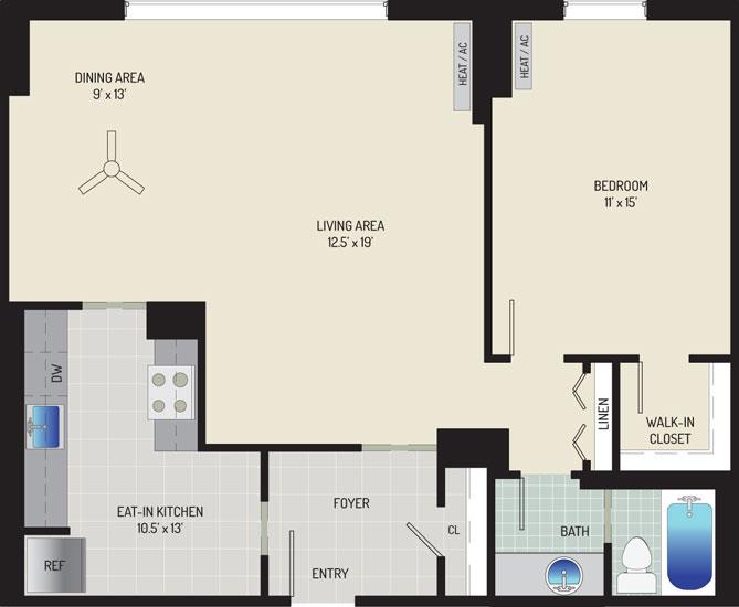 London Park Towers Apartments - Apartment 145375-1211-L2