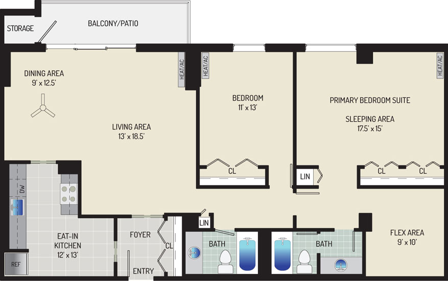 London Park Towers Apartments - Apartment 145375-1006-ZF