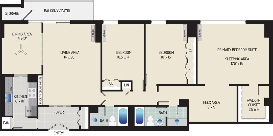 London Park Towers Apartments - Apartment 145375-0616-ZL2