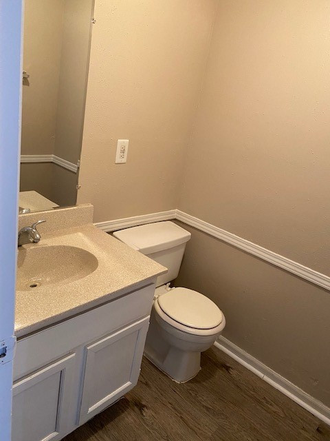 Single Vanity at Magnolia Manor Apartments in West Columbia, Texas