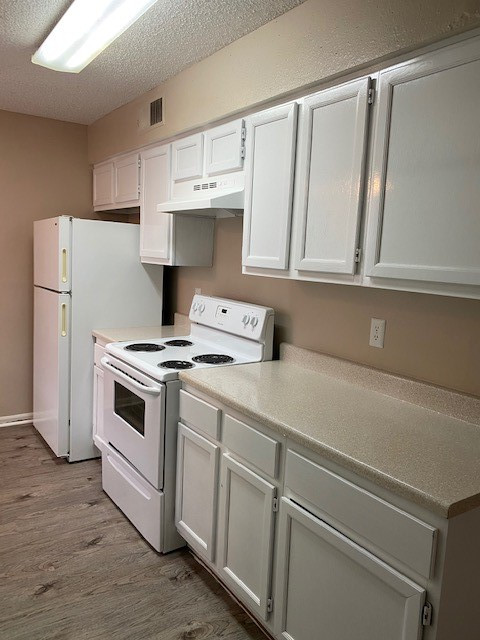 Kitchen at Magnolia Manor Apartments in West Columbia, Texas