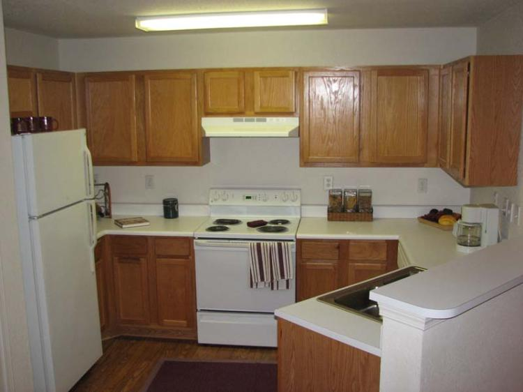 Kitchen Area at the Magnolia Pointe Apartments in Duluth, GA