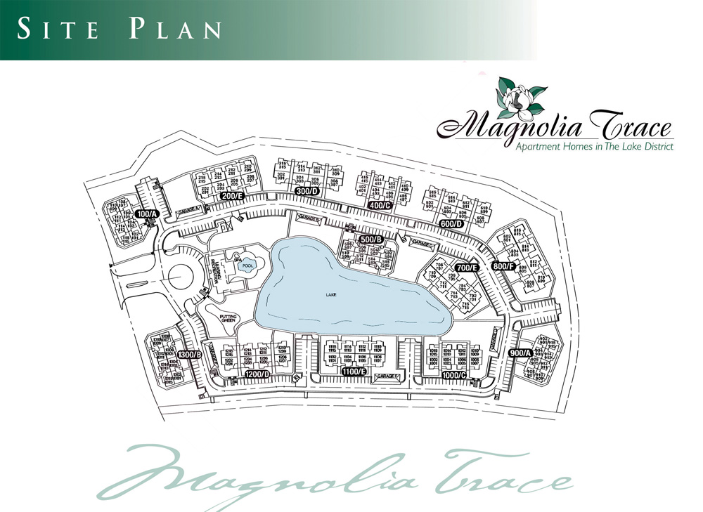 Magnolia Trace Apartment Homes Site Plan