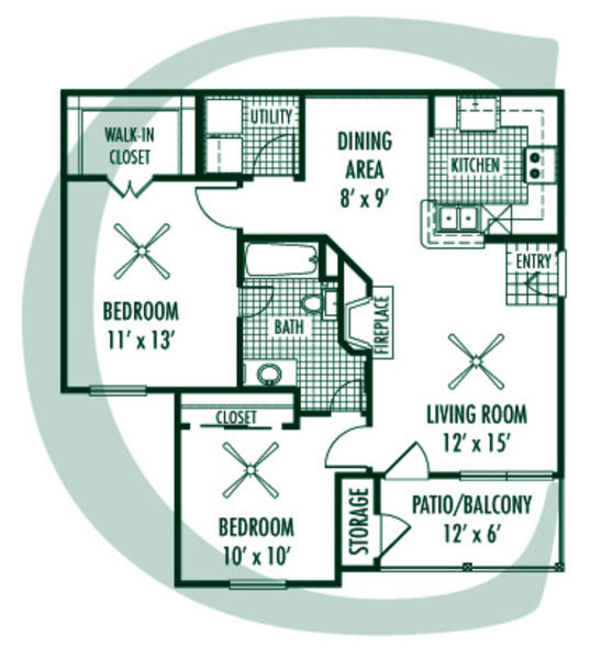Floorplan - C Plan image