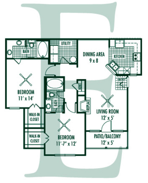 Floorplan - E Plan image