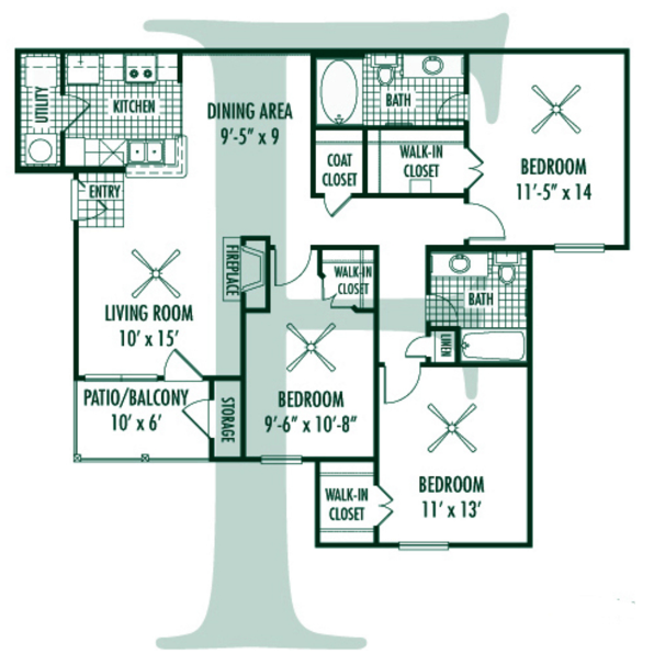 Floorplan - F Plan image
