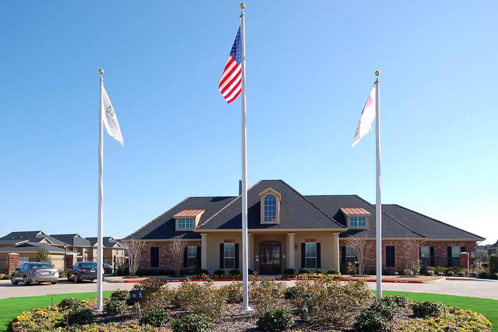 Community Clubhouse at Magnolia Trace Apartments in Alexandria, Louisiana
