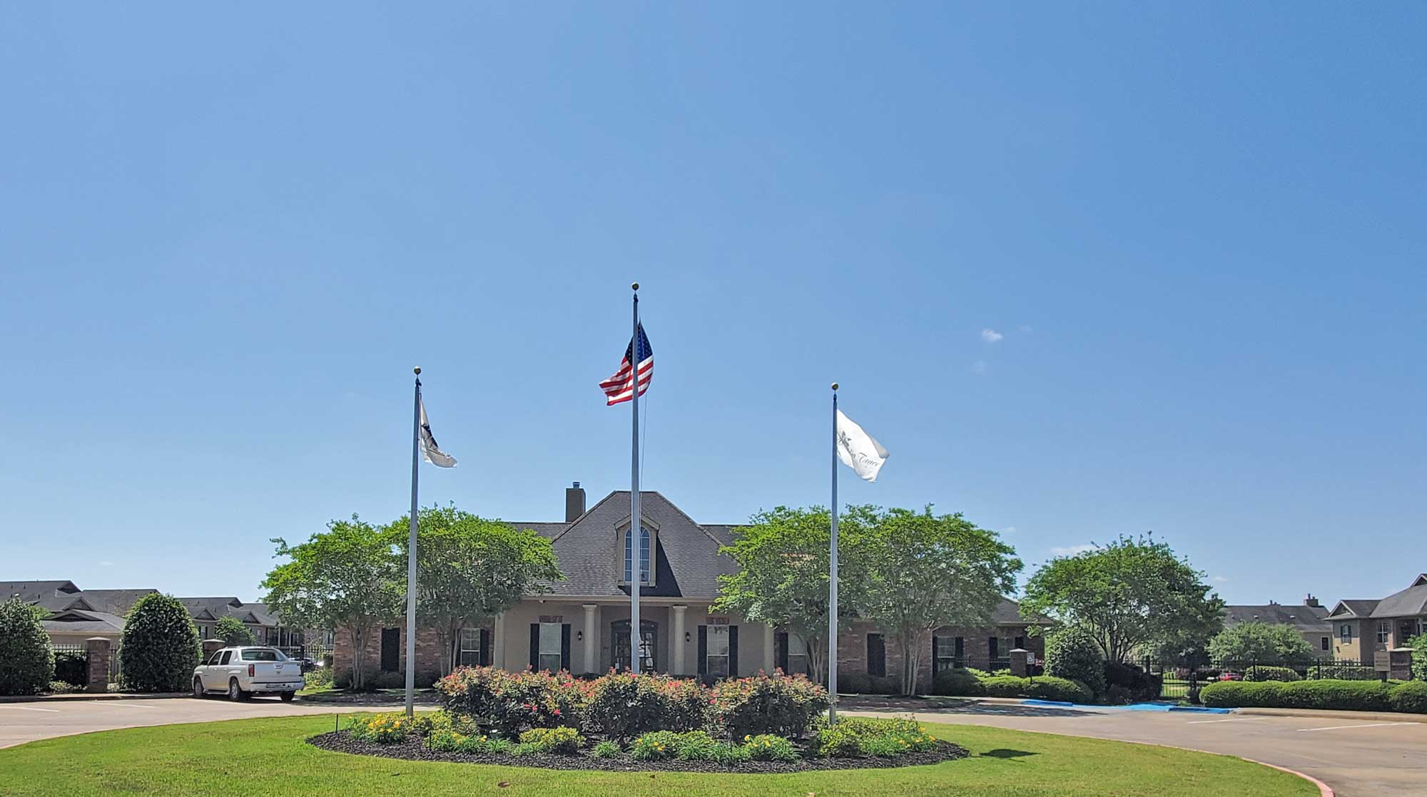 Exterior View at Magnolia Trace Apartments in Alexandria, Louisiana