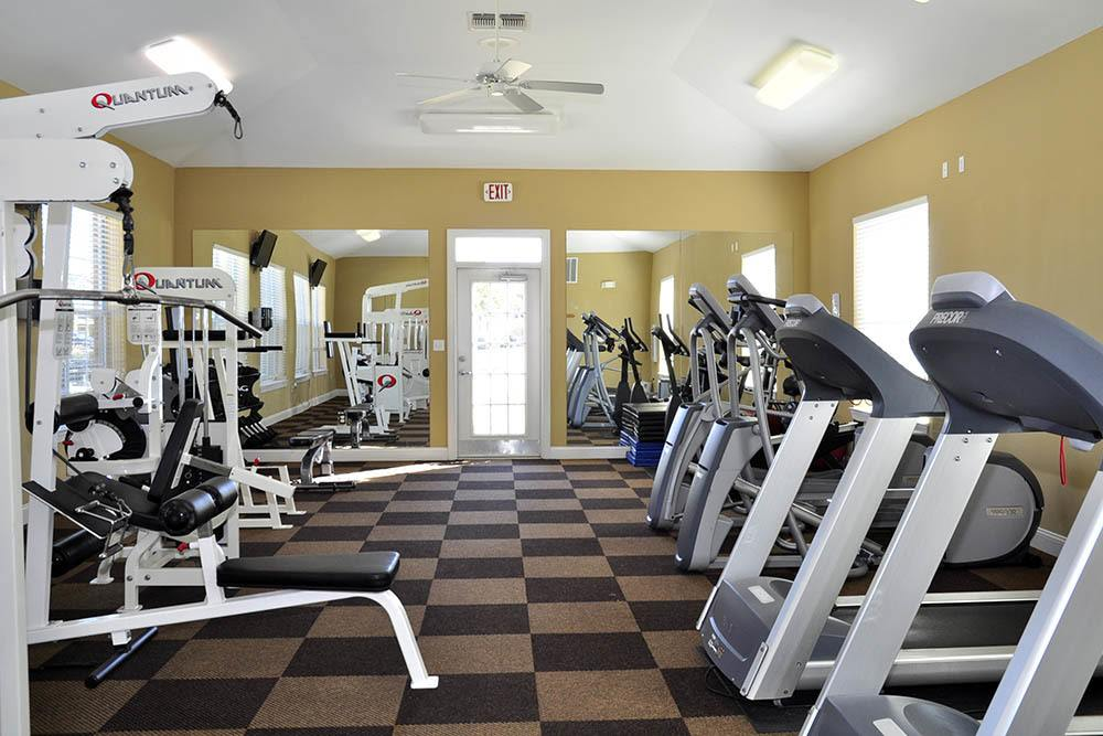 Fitness Center at Magnolia Trace Apartments in Alexandria, Louisiana