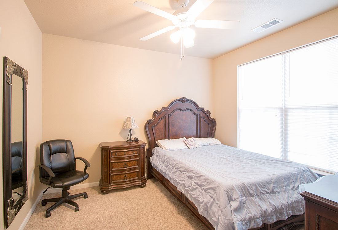Ceiling Fans at Reserves at Maplewood Apartments in Wichita Falls, Texas