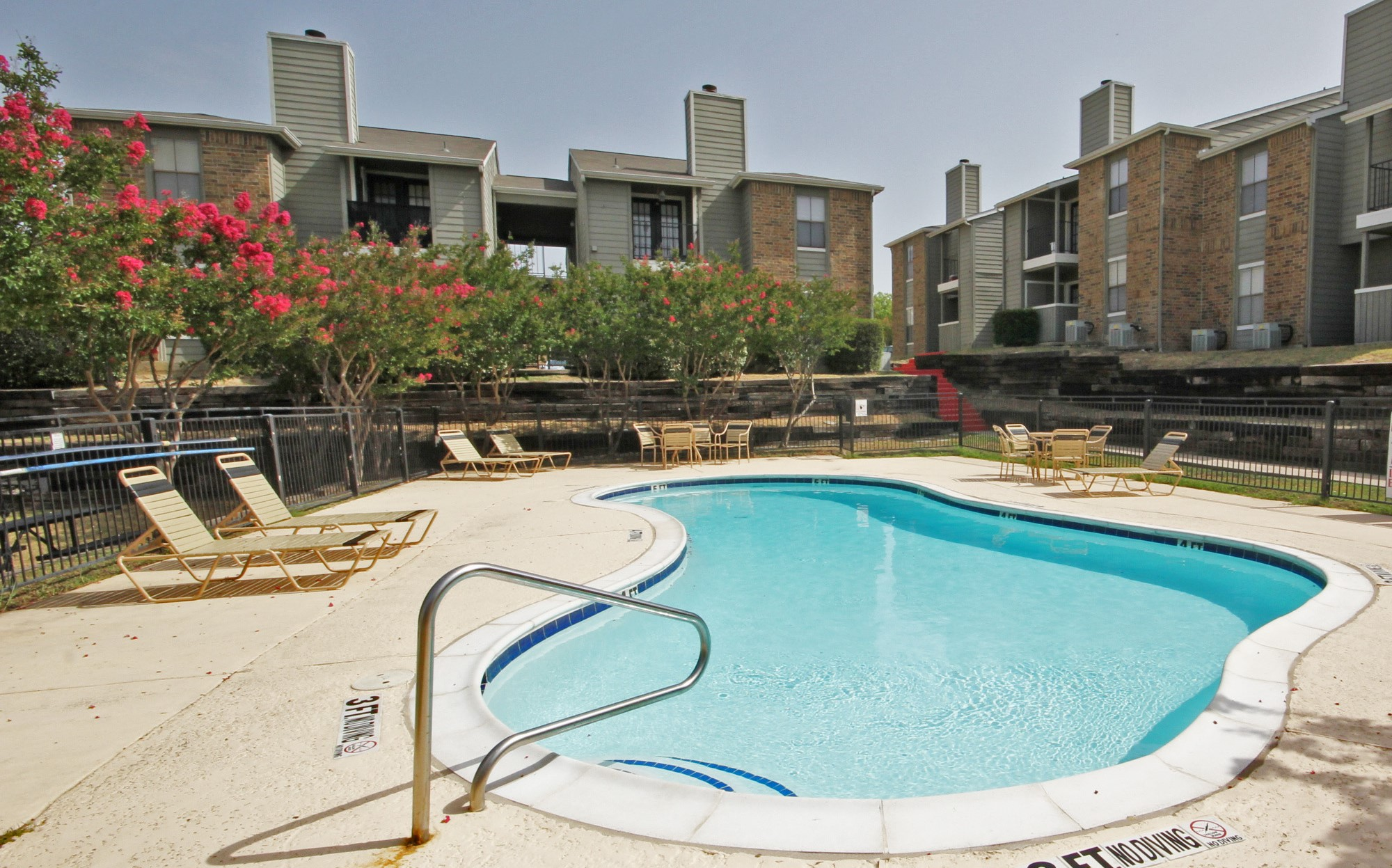 Sparkling, Relaxing Pool at Marine Creek in Fort Worth, Texas