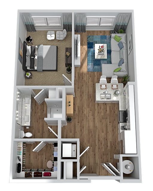 Marketplace Vista - Floorplan - A1-1