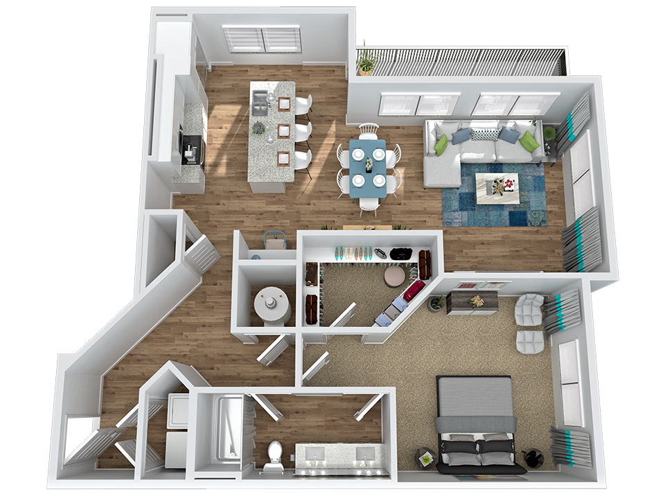 Marketplace Vista - Floorplan - A2-1