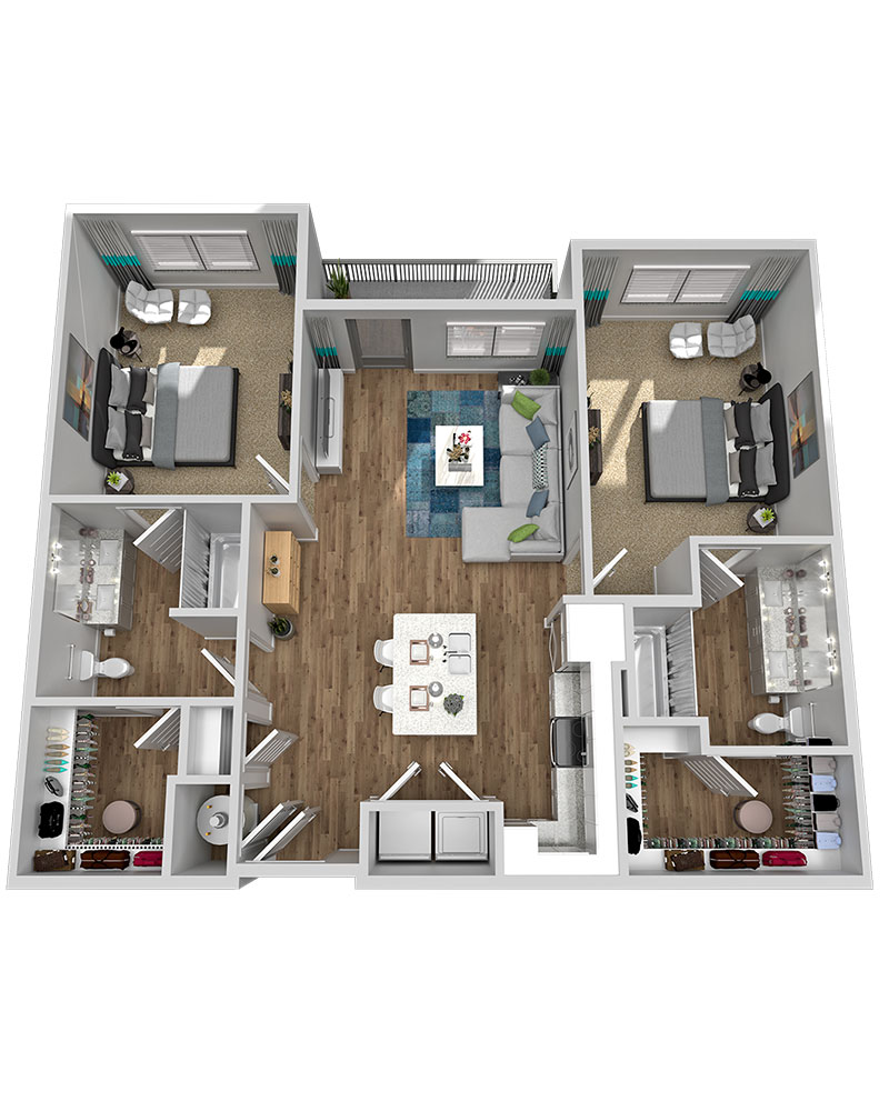 Marketplace Vista - Floorplan - B1