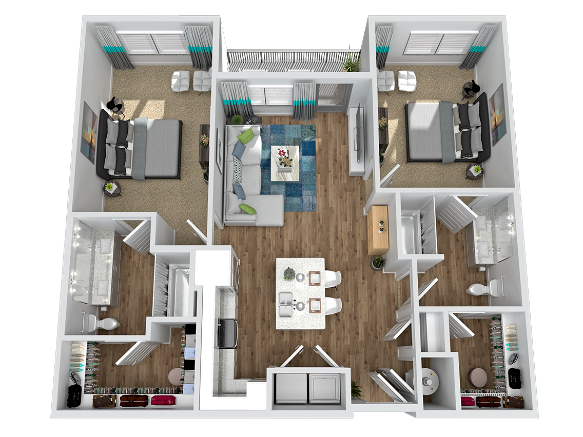 Marketplace Vista - Floorplan - B1.1