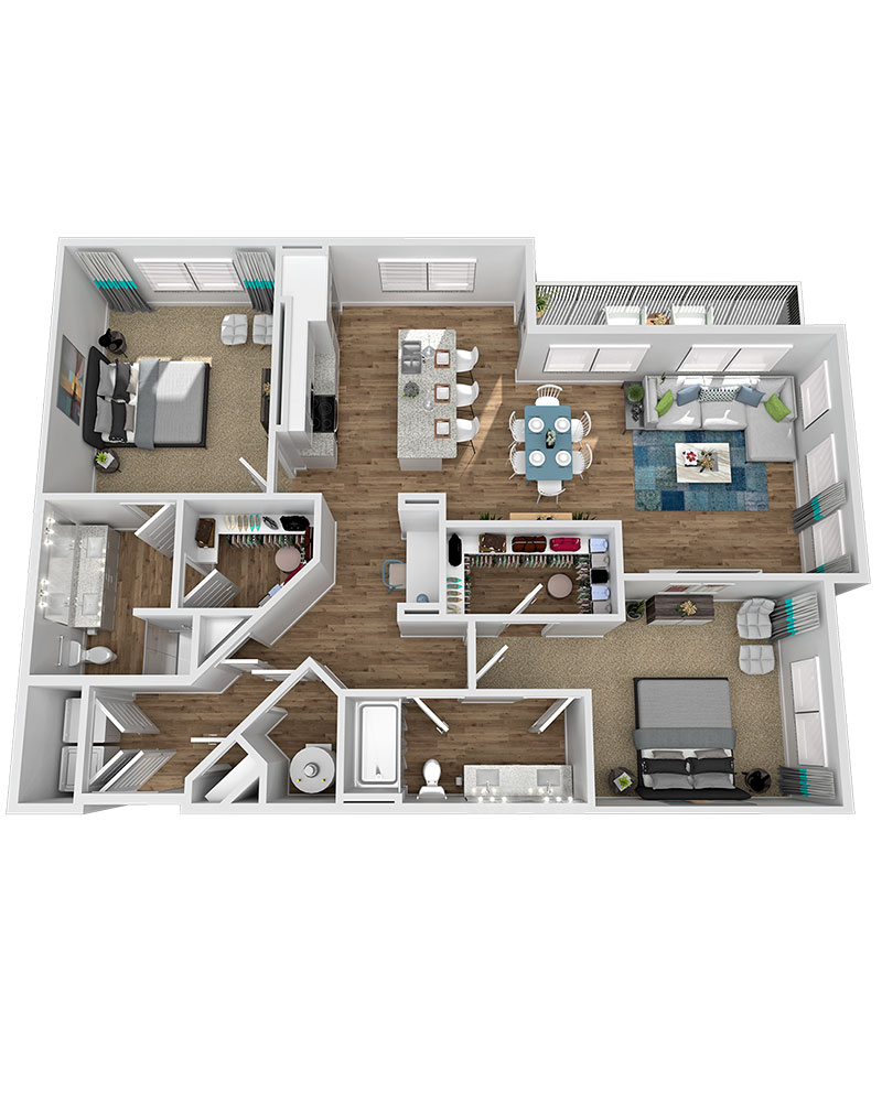 Marketplace Vista - Floorplan - B2