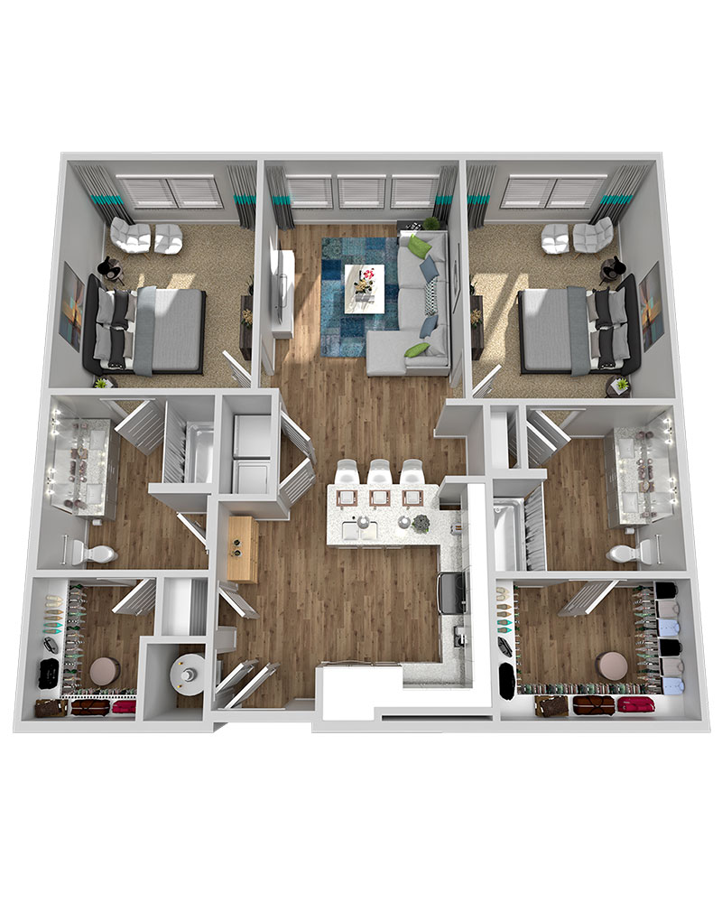 Marketplace Vista - Floorplan - B4