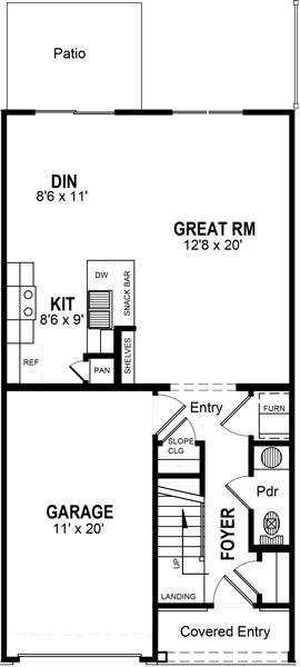 Floorplan - 3 br image