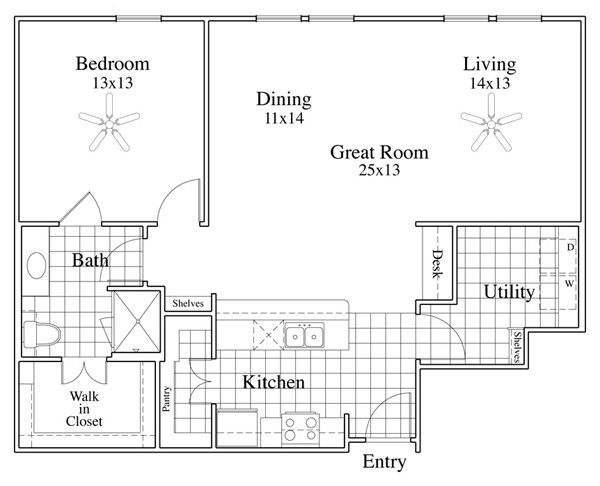 McDermott Crossing - Floorplan - Masa