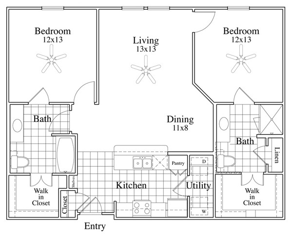 McDermott Crossing - Floorplan - Cortona